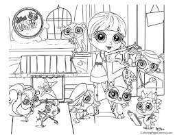 littlest pet shop 01 coloring page coloring page central