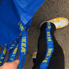 there is no stopping the blue bag ikea hackers ikea hackers