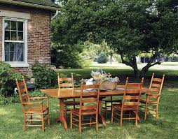 Shaker Mission  Craftsman Dining Room Furniture  Seattle - Shaker dining room chairs