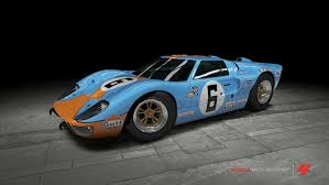 gulf racing ford gt40 m k ii gulf race car by outcastone on deviantart