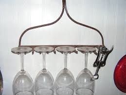 Cool Home Bar Decor Furniture Cool Wine Glass Rack Holder For Stemware Storage And