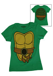 Ninja Turtle Womens Halloween Costumes Womens Tmnt Costume Shirt