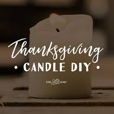 thanksgiving candle diy thine home