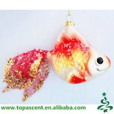 tropical blown glass fish ornaments wholesales