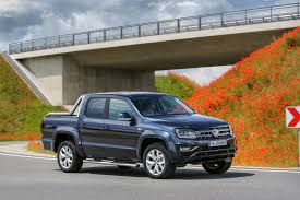 volkswagen pickup 2016 2017 vw amarok gets 201 hp diesel engine canyon edition