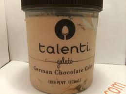 crazy food dude review talenti german chocolate cake gelato