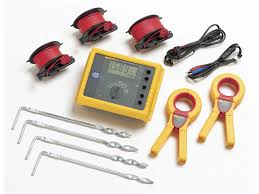 fluke 1623 2 kit basic geo earth ground tester kit tequipment net