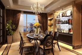 examples of the interesting dining room design equipped with