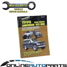 workshop repair manual book landcruiser diesel hj45 hj47 hj60 hj61