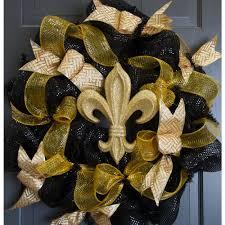 10 gold glitter fleur de lis ornament mz166808 craftoutlet
