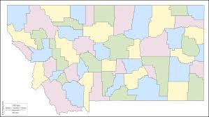 Montana Usa Map by Montana Free Map Free Blank Map Free Outline Map Free Base Map