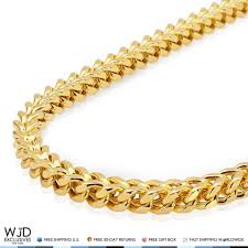 curb link chain necklace images 925 sterling silver 14k gold plated 4mm franco box link chain jpg