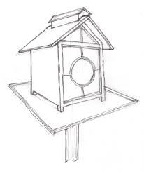 houses drawings bird house drawings houses shocking picture high scan0026 design