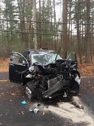 four hurt in crashes in foxboro saturday morning local news