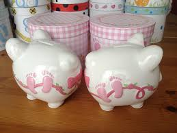 personalised piggy bank girl s my 1st personalised ceramic piggy bank
