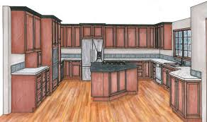 how to design a kitchen remodel with free software creating a gluten free zone in a woodinville kitchen remodel