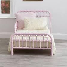 Child Bed Frame Toddler Bed Frame Rail Base Set Vintage Metal Child Bedroom