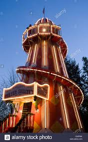 helter skelter one of the rides at winter an annual