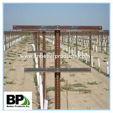 trellis end post assembly designs for vineyards buy vineyard