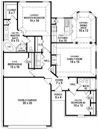 3 bedroom 2 bath floor plans for house inspirational home design