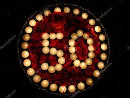 decorated 50th birthday cake u2014 stock photo amosnet 2298737