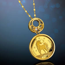 coin pendant necklace jewelry images Monomania moon and unicorn gold jewelry gold coin pendant jpg