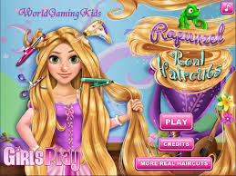 princess rapunzel real haircuts games for kids game 2015