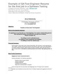 Qa Analyst Resume Sample Examples Of Resumes Research Analyst Resume Format Template