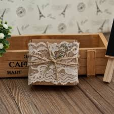 fall wedding favors rustic fall wedding favor box with lace and dried flowers ewfb093