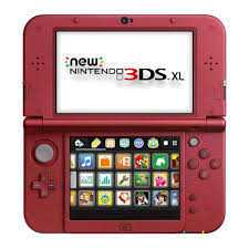 new nintendo 3ds xl red toys