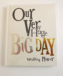 our wedding planner our big day wedding planner notebook gallery