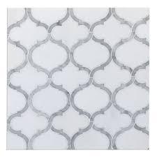 marrakech arabesque lantern mosaic tile carrara u0026 thassos white