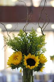 Sunflower Wedding Decorations Real Weddings Ilonka Floral Decorator
