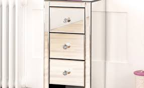Venetian Bedroom Furniture Mirror Beautiful Venetian Mirrored Chest Of Drawers Furniture