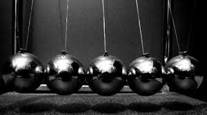 Swinging Desk Balls Newton U0027s Cradle Science Toys Epic Giftables