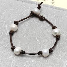 pearls bracelet images Pernnla pearl 10 11mm freshwater pearl bracelet nature white jpg