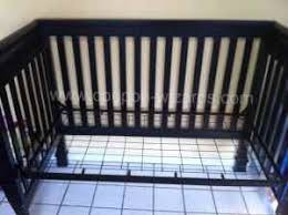 Crib Mattress Base Turn An Outgrown Crib Into A Child S Desk