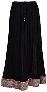 cotton skirt madhu women s cotton skirt skt0050 black free size