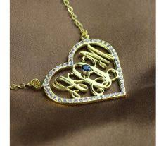 Gold Plated Monogram Necklace Miley Cyrus Style 18k Gold Plated Silver Carrie Name Necklace
