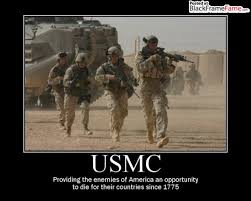 Us Marine Meme - usmc providing the enemies of america an opportunity to die for