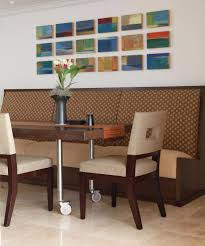 Dining Room Chairs With Wheels by Kitchen Chairs With Casters Dining Room Contemporary With Abstract