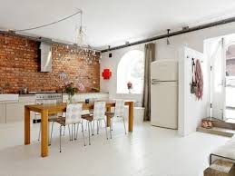 briques cuisine déco brique cuisine alliant style industriel et modernité
