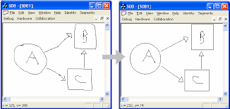 design applying the elements applying the syntax recognizer to a freehand diagram hand drawn