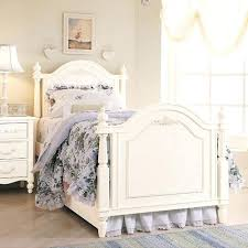 off white bed frame king size fabric studded wing bed head