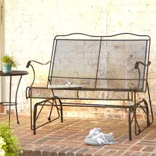 Lifetime Patio Furniture by Lifetime Wood Alternative Patio Glider Bench Inside Gliders And