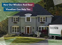 our window and door visualizer can help you