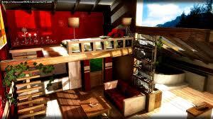 modern apartment mmd stage dl by diemdo shiruhane on deviantart
