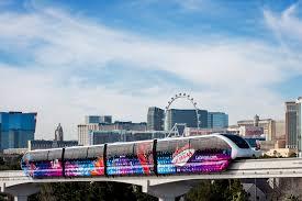 Las Vegas Strip Map Monorail by Las Vegas Monorail Pass Unlimited Rides On The Las Vegas