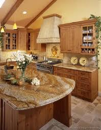 Kitchen Design With Granite Countertops by Best 25 Knotty Alder Kitchen Ideas On Pinterest Rustic Cabinets