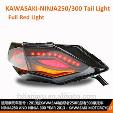 ninja 300 integrated tail light smoke integrated led tail light signal ninja300 ninja 250 stop l